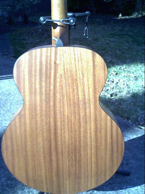 image title is /guitars/Taylor 355 back view 3