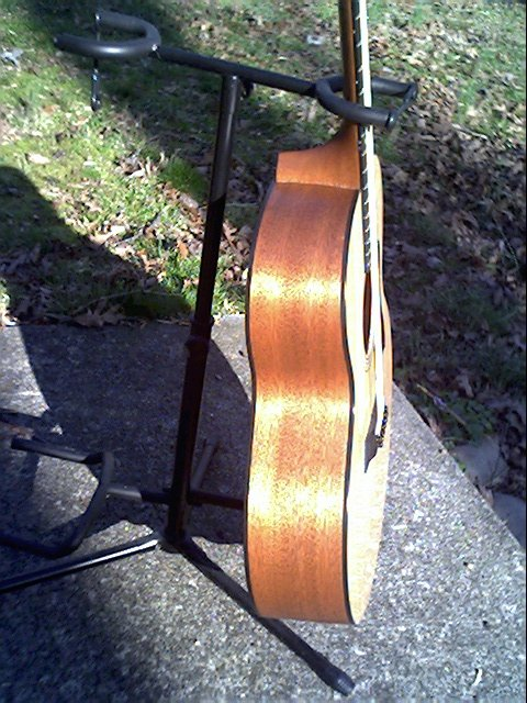 image title is /guitars/Taylor 355 side view